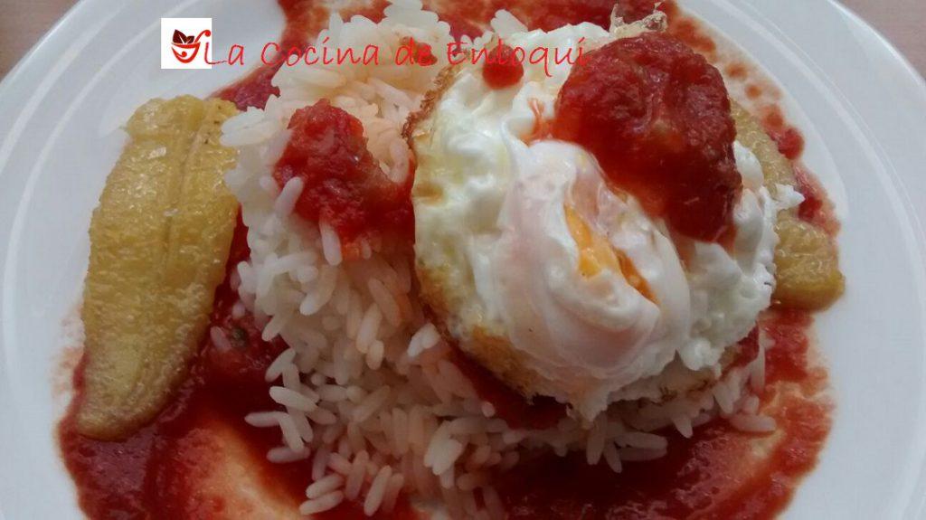 Arroz a la cubana arroces y pastas la cocina de enloqui - Calorias arroz a la cubana ...