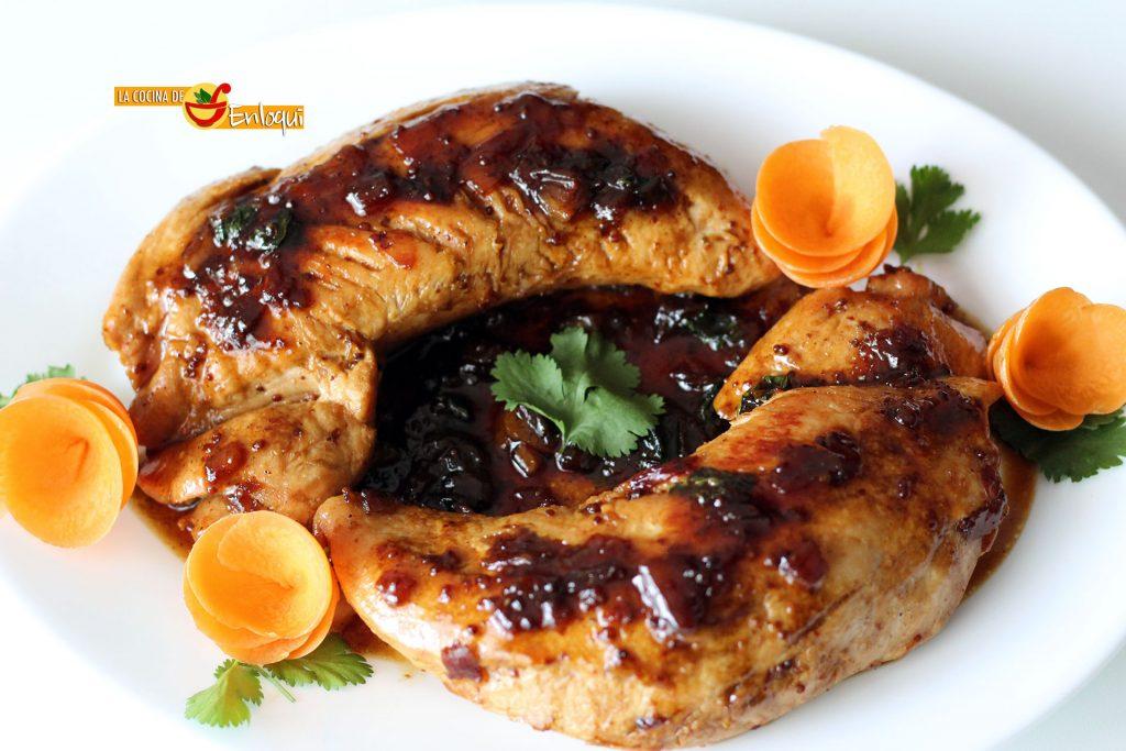 Solomillo de pavo con miel y mostaza la cocina de enloqui - Solomillo de ternera al horno con mostaza ...
