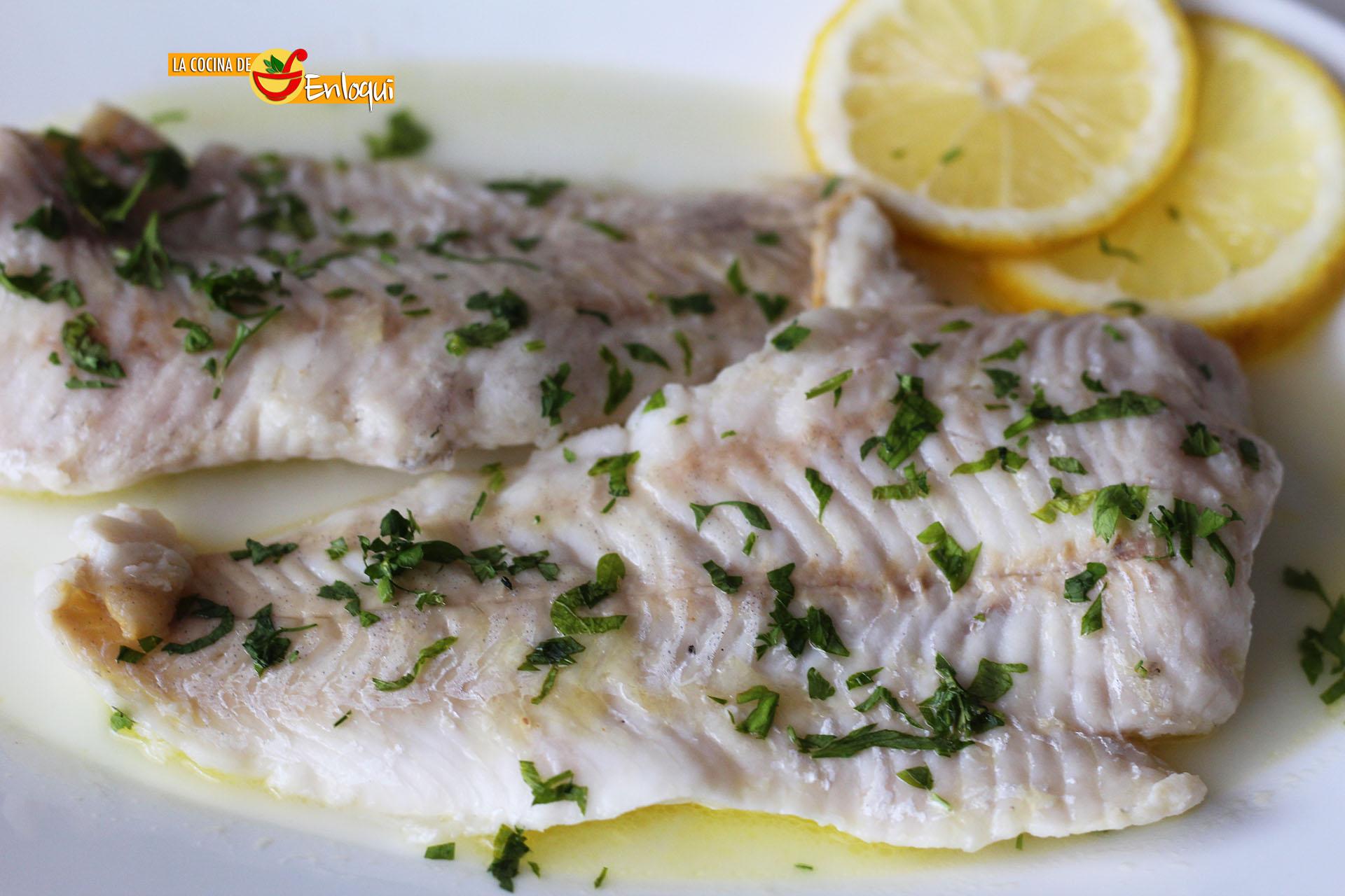 Pescado al lim n en el microondas la cocina de enloqui - Cocinar pescado en microondas ...